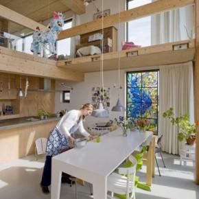 LLarch_houten_familiehuis_IJburg_steigereiland_woonkeuken