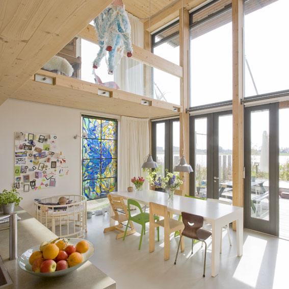 MAATworks_houten_familiehuis_massief_hout_eetkeuken_bio_based